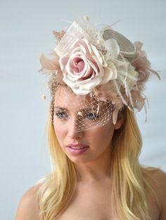 Mini floral top hat