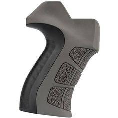$16 ATI AR-15 X2 Scorpion Recoil Pistol Grip Stock, Destroyer Gray