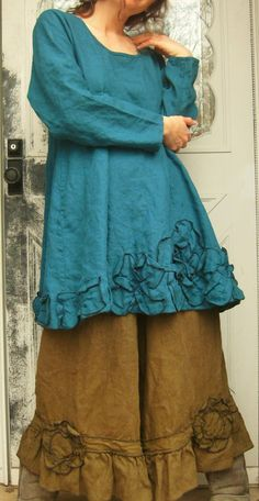 Swingy Tunic by sarahclemensclothing on Etsy, $149.00