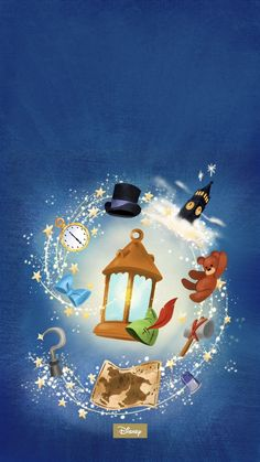 Deco Disney, Arte Disney, Disney Fan Art, Disney Fun, Disney Phone Wallpaper, Wallpaper Iphone Cute, Disney Posters, Disney Cartoons, Peter Pan Painting