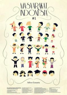 indonesia is a country with many culture, every tribe has its own cultural habits. This vector represents many cultures of indonesian peoples.