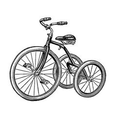 Handmade Vintage Retro Tricycle Silhouette PDF Cross-Stitch Pattern Bike's For You 🚲 Clip Art Vintage, Images Vintage, Retro Vintage, Vintage Graphic, Vintage Style, Tricycle, Diy Image, Foto Transfer, Heat Transfer