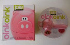 JOIE OINK OINK 6 Pc Measuring Cups & 5 Pc Measuring Spoons Stackable,Pink Pigs #JOIEMSCInternational