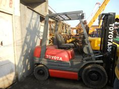 used toyoya 3ton forklift original from japan (FD30) - China used 3ton forklift;used Toyota forklift;used forklift, Toyota