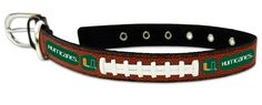 Miami Hurricanes Dog Collar - Large