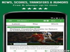 SF Football (Soccer) News  Android App - playslack.com ,  One free app for following the latest football (soccer) news, videos and live scores!So - What you can do with this app?♦ Receive the latest news for specific teams (including Liverpool, Chelsea, FC Barcelona and more) or general highlights from the world of football.♦ Stay up to date with the latest live scores & results from the major league games, including the Champions League, Premier League, MLS, UEFA Euro 2016 and more.Full…