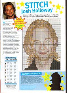 sandylandya@outlook.es Josh Holloway Cross Stitch Chart