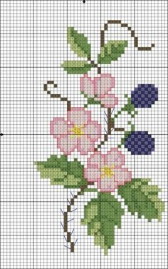 Flower and berries chart