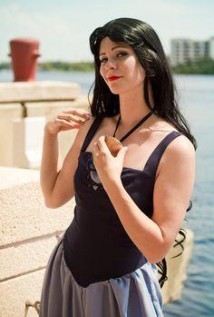 Vanessa (Ursula) cosplay - The Little Mermaid