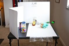 how to set up a home photography studio by eat, live, run (one of my favorite blogs!)