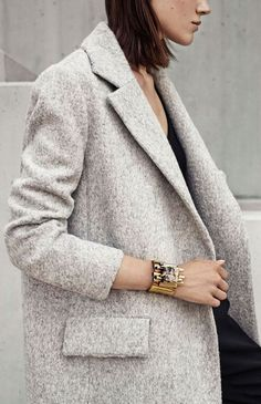 that oversized blazer + that cuff...