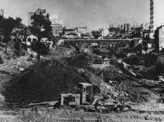 Final dos anos 60. Avenida 23 de Maio em construção.