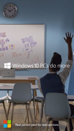 Teacher Toney Jackson makes the classroom a stage. Windows 10 PCs do more. Just like you.