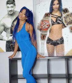 Wrestling Divas, Women's Wrestling, Mercedes Kaestner Varnado, Wwe Sasha Banks, Eddie Guerrero, Wwe Girls, Wwe Ladies, Wwe Female Wrestlers, Black Wrestlers