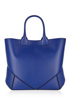 Givenchy | Easy bag in bright-blue leather | NET-A-PORTER.COM