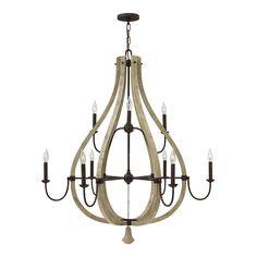 Fredrick Ramond FR40578IRR Middlefield 9 Light Chandelier | ATG Stores