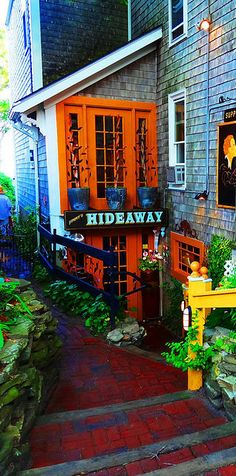 Jimmy's  HideAway, Provincetown. Grab a seat at the Bar and let Jimmy make you an awesome cocktail. The grub is great.