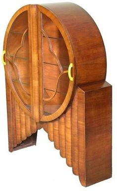 Art Deco Rocket Cabinet by lina