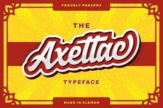 Axettac Script - Intro Sale & Bonus by Subqi Std on @creativemarket