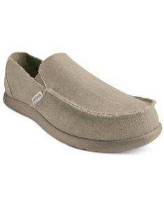 c4923d105031 Crocs Men s Santa Cruz Loafers - Tan Beige 13 Crocs Shoes For Men