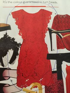 Yes I am in love with red lace - gorgeous gorgeous dress - Topshop design 2015