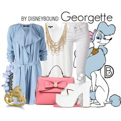 Georgette by leslieakay on Polyvore featuring Uniqlo, rag & bone, SPURR, ALDO, Haskell and Charlotte Russe