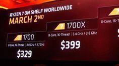 AMD lässt den gestrigen Ankündigungen direkt Produkte folgen: Erste Mainboards für Ryzen-7-Prozessoren sind im Onlinehandel verfügbar.