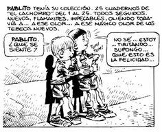 El franquismo en España: el reflejo de la posguerra en la escuela. Humor y critica de la escuela franquista de posguerra