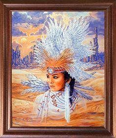 Indian Maiden Wearing a Headdress Native American Wall De... https://www.amazon.com/dp/B01JI7FM7Q/ref=cm_sw_r_pi_dp_x_.DaSyb1NF173X