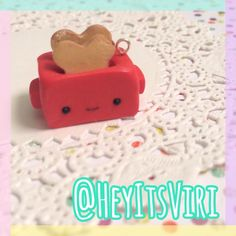 #kawaii #charms #polymer #clay #toaster