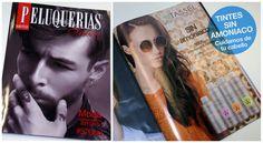 Publicidad Tintes Sin Amoniaco TASSEL Cosmetics en la Revista Peluquerías Hair Syles de otoño/invierno  #peluqueriasHairSyles #TasselCosmetics #TinteSinAmoniaco #hairdye