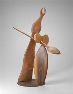"Alexander Calder Sculpture ""Diana"", walnut with steel pins, at the Museum of Fine Arts, Boston Modern Sculpture, Sculpture Art, Alexander Calder Sculptures, Alexandre Calder, Kinetic Art, Blue Feather, Joan Miro, Land Art, Museum Of Fine Arts"