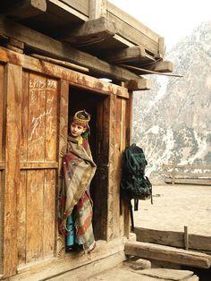 Kalash girl, Hindu Kush, Pakistan