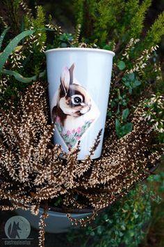 coffee to go cup - porcelain - freulein fux  #coffeetogo