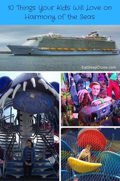 10 Things Your Kids Will Love on the new Harmony of the Seas, Royal Caribbean's newest and biggest cruise ship!