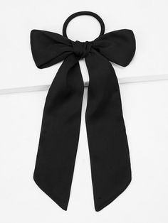 Shop Bow Knot Decor Hair Tie at ROMWE, discover more fashion styles online. Latest Hairstyles, Diy Hairstyles, Headband Hairstyles, Romwe, Style Noir, Hair Ties, Scrunchies, Fashion News, Woman Fashion