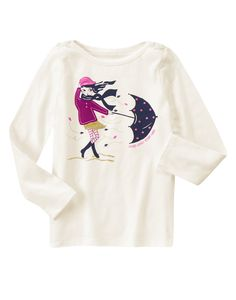 Windy Day Long Sleeve Tee at Gymboree (Gymboree 3-12y)