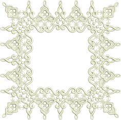 Sue Box Creations | Download Embroidery Designs | 03 - Lacy Border Doily