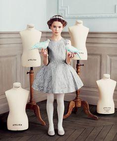 Baby Dior Automne Hiver 2013 2014 : Les Enfants et Les Oiseaux