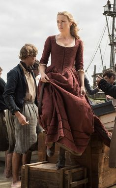 "Annie Walker Lead Protagonist in ""Black Sails. 18th Century Dress, 18th Century Clothing, 18th Century Fashion, Historical Costume, Historical Clothing, Larp, Landsknecht, Black Sails, Movie Costumes"