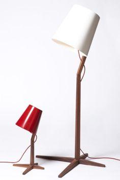 'Fujiya' Floor & Desk Lamp by Dare Studio Floor Desk, Floor Lamp, Unique Lighting, Home Lighting, Table Lighting, Lighting Design, Light Table, Lamp Light, Sitting Room Lights