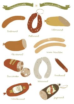 TRADITIONAL GERMAN SAUSAGES #sausagefest2014
