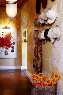Hout Bay Manor Hotel - pioneering a brave new trend in celebrating the colour and love of design in Africa Hotel Corridor, Cape Dutch, Best Coffee Shop, Design Blog, Interior Inspiration, Contemporary Design, Interior And Exterior, Ladder Decor, Eye Candy