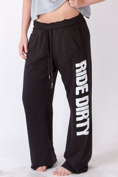 Black Ride Dirty Pant from Off Road Vixen