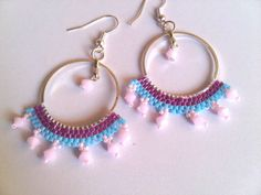 Pirates of Caribbean hoops earrings by ile1974 on Etsy, €15.00