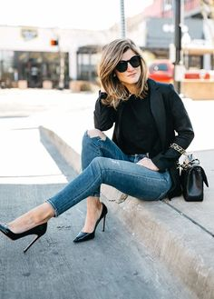 why a black blazer is an essential for every season