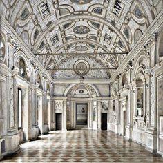 """eccellenze-italiane: """" Massimo Listri - Palazzo Ducale a Mantova La Galleria dei Marmi """""""