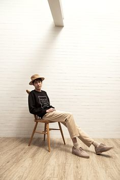 """Bangkok-based brand Boyplain unveiled the lookbook for its Spring/Summer 2015 collection titled """"Caffeinated"""".The collection takes inspiration from fun-loving vibes of ubiquitous coffee shops including all-encompassing stuff spanning from piles of vintage-tinged bakery drawings to tea-slash-coffee paraphernalia sketches, to name just a few."""