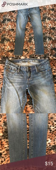 Bull head (Pacsun) jeans A gently used medium wash pair of jeans by bullhead (Pacsun) in a size 9 and in the style her moss Super Skinny Jeans PacSun Jeans Skinny