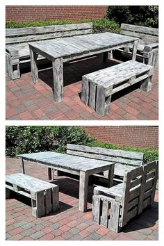 fantastic pallet furniture idea